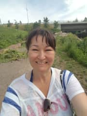 2020 jogging in Kotka, Finland.