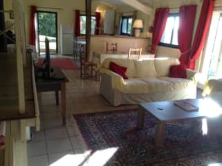 Cottage main living room