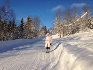 A walk in Lillehammer/Norway 2018