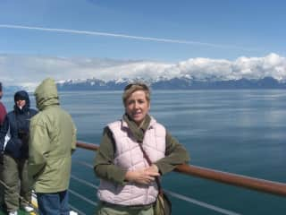 This was on a wonderful cruise to Alaska