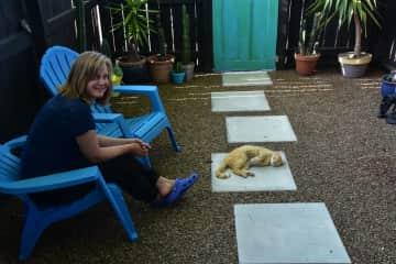Backyard-Relaxing
