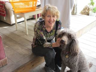 Janet with Fizz - or was it Lola?