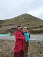 Travels through Amdo, Tibet Sept. 2019.  A Tibetan Monk friend of mine.