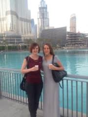 Arielle and Claire in Dubai