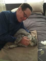 Gary and Bandit in Vancouver