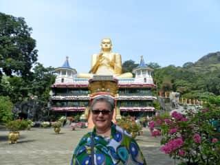 Evelyn on tour in Sri Lanka