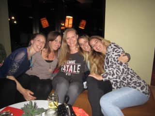 Girlfriends and I after a business conference in Vienna, Austria (just before Covid)