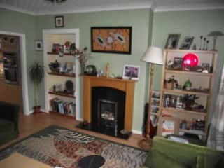 Three bedroom house with garden front and rear