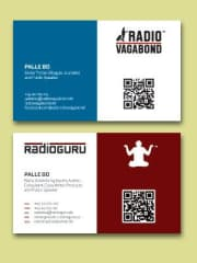 My two business cards