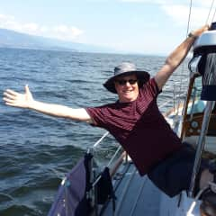 Sailing in British Columbia after a sit