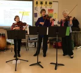 In-school children's concert