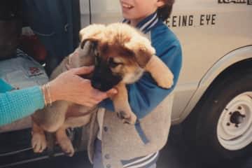 1st Seeing Eye puppy Violet