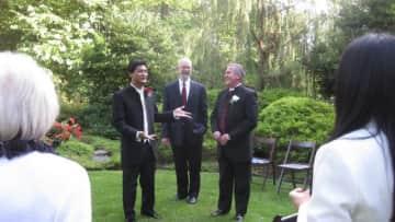 Wedding day, Hinesburg, Vermont.