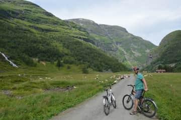Cycling the Flambanen, Norway
