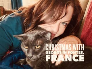 Cuddly George for a French Christmas - 2019