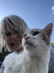 Chilling with Milo in Malta