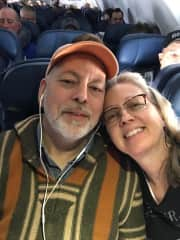 Me with my husband, Paul