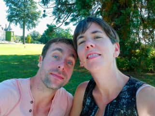 Wouter and Julie