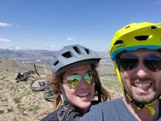 Mountain Biking Southeastern Idaho