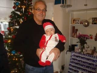 My Granddaughter Eliza and myself.