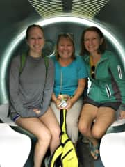 Me and my daughters on our annual girls trip!