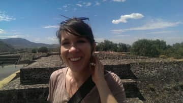 Stair-stepping at Teotihuacan