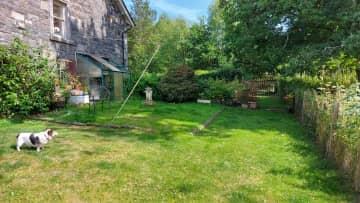 Also the back garden