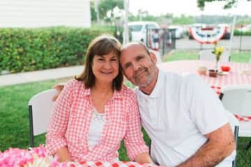 Patti and Dave Morton