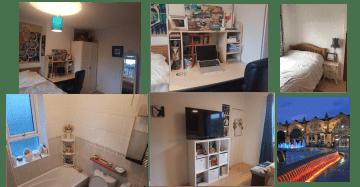 bedrooms & bathroom