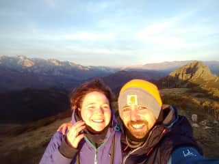 Mike and I in the picos de Europa