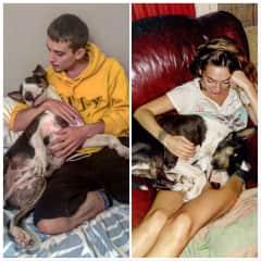 Lola, Maxime and Bacon