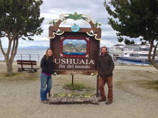 We made it to the end of the America's...Ushuaia, Argentina! March 2015
