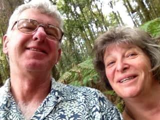 Meg And Graeme in Barrington Tops National Park (New South Wales, Australia)