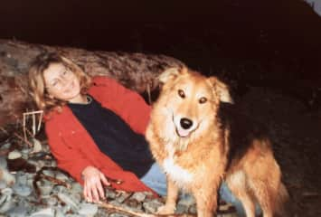 Jo Ann and Browner, when we were younger.