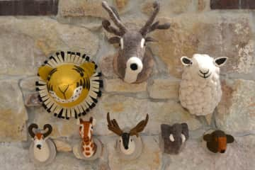 Batu Gifware Co:  Felt Animal Heads