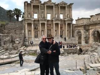 Us at Ephesus, Turkey