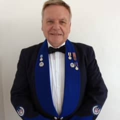 This is a recent photo taken of me in my dress uniform at a Dinner in London, for members of the International Police Association of which I have been a member for 51 years
