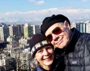 Jo Ann and David in Santiago de Chile.