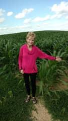 Myself and the corn