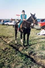 Joaco riding a horse