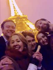Christmas and New Years in Paris with my kids.  My nephew and niece came over from London.  We had a blast!