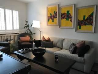 Living room on the 1st floor