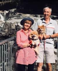 Bootsie, Peaches with John and Doreen In Washington State, USA