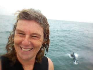 my dream comes true to swim with wild dolphins