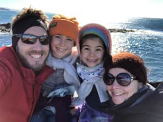 Gareth, Maya, Anouk and Mel
