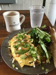 Amazing coffee/breakfast at Groundwork (L.A.)