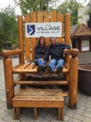 Jay and Sara at Squaw Valley