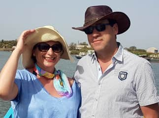 Our 25th wedding anniversary - Gambia 2018