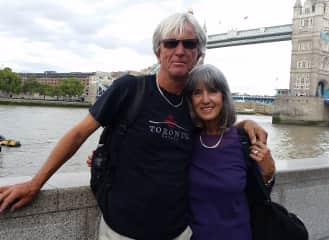 Mona and Rolf in London