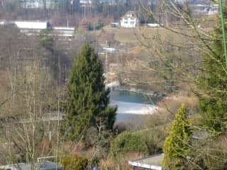 another view on the river Aare